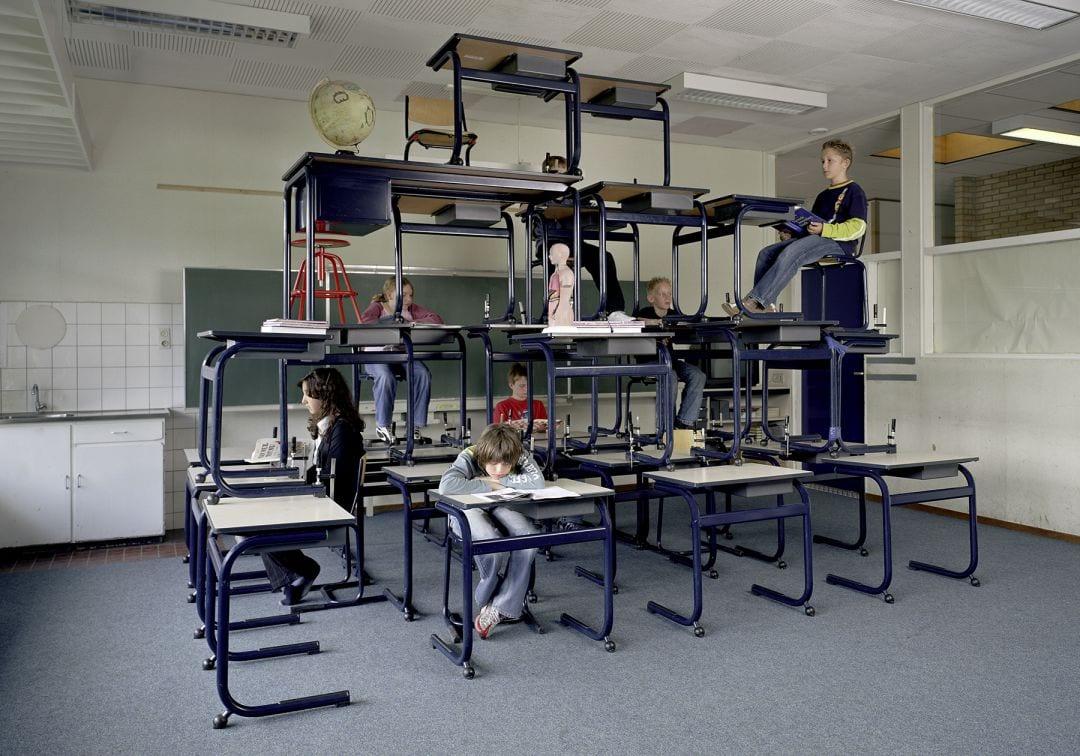"Photo: © Servet Kocyigit "" Higher Education"" 2006, 280x400cm, C-Print, Courtesy of Artist"